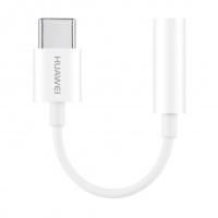 Adapteris Huawei CM20 USB Type C to 3.5mm Baltas