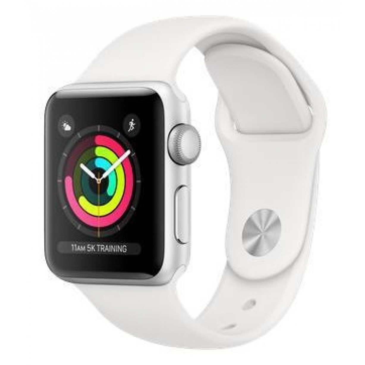 Apple Watch 3 Sport 42mm Silver/White
