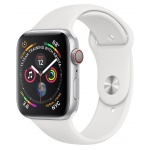 Apple Watch 4 40mm Silver/White Sport Band