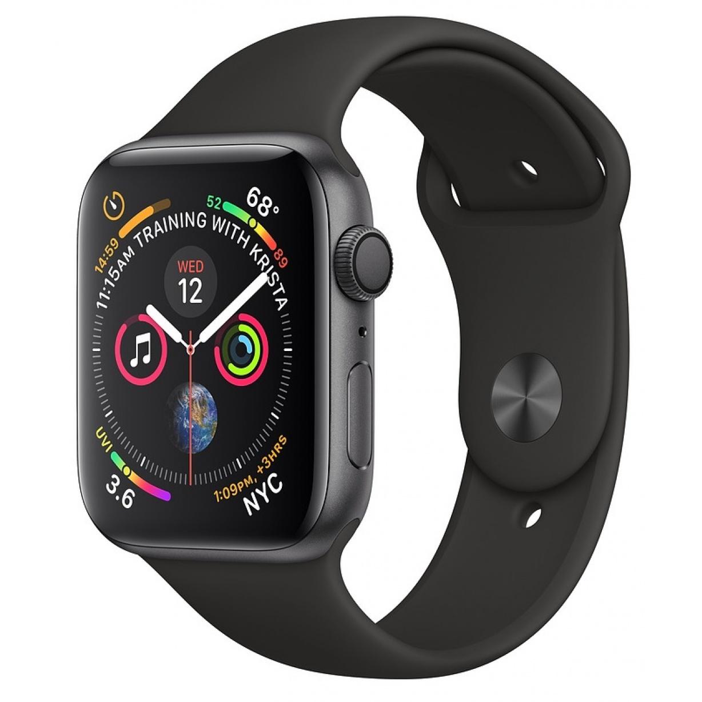 Apple Watch 4 40mm Gray/Black Sport Band