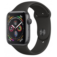 Apple Watch 4 40mm Gray/Black Sport Band
