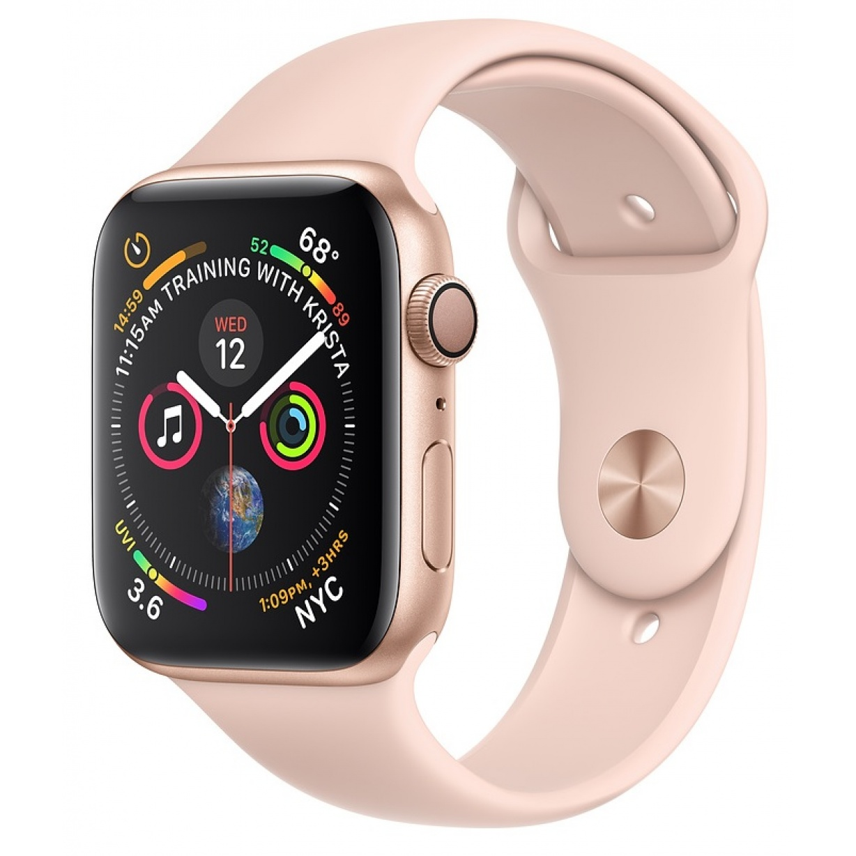 Apple Watch 4 40mm Gold/Pink Sand Sport Band