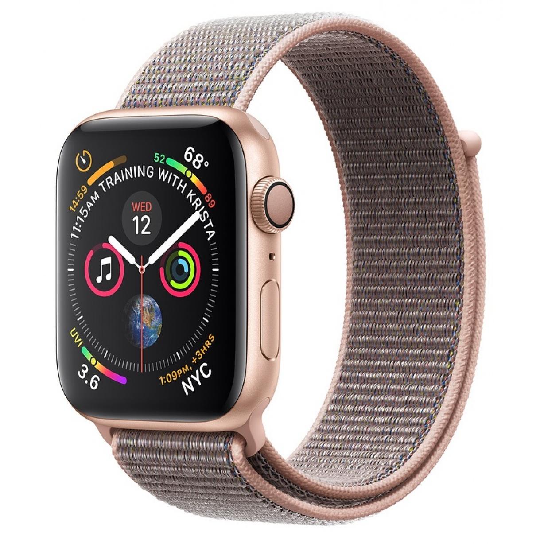 Apple Watch 4 44mm Gold/Pink Sand Sport Loop
