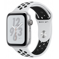 Apple Watch 4 Nike+ 40mm Silver/Platinum Black Sport Band