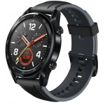 Huawei Watch GT Black/Graphite Black Silicone Strap