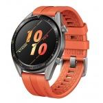 Huawei Watch GT Grey/Orange Fluoroelastomer Strap