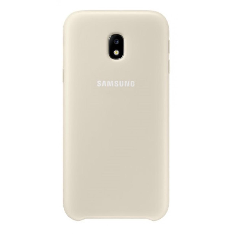 Nugarėlė J330 Samsung Galaxy J3 (2017) Dual Layer Gold