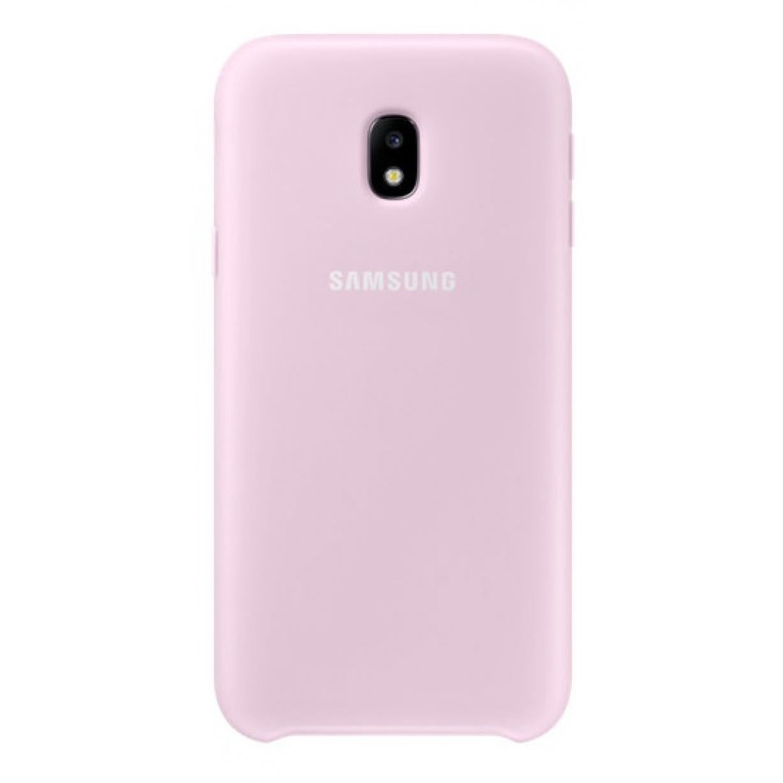 Nugarėlė J330 Samsung Galaxy J3 (2017) Dual Layer Pink